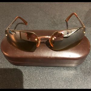 Coach rimless sunglasses